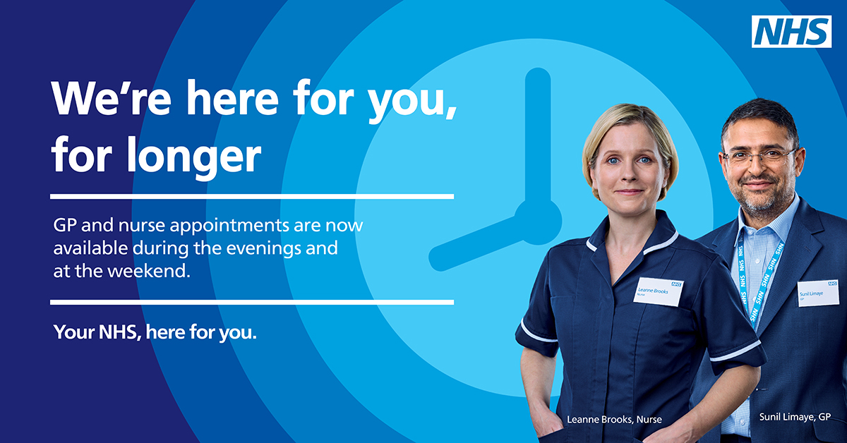 We're here for you, for longer